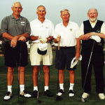 L – R Peter Read (Aust), Colin Biar (Aust), Jack Ruhs (USA) Mike Jacobs (Ireland)